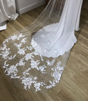 Made with love Veil white