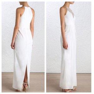 Zimmermann Vestido de novia blanco-blanco puro Seda