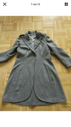 Brunello Cucinelli Winter Coat silver-colored cashmere