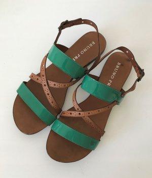 Bruno Premi Roman Sandals multicolored leather