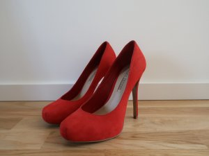 *neu* Buffalo Plateau-Pumps in rot