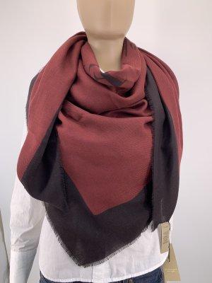 Burberry Wollen sjaal bordeaux