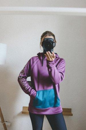 Burton Sweter z kapturem niebiesko-fioletowy-ciemny fiolet