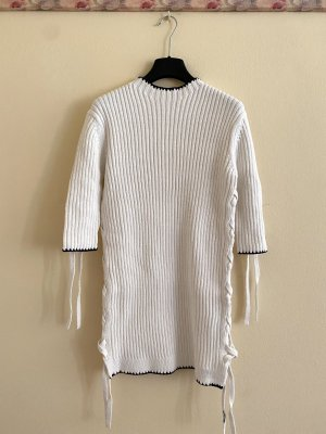 NEU By Malene Birger Lace up cotton sweater