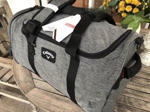 Bolsa de gimnasio gris-negro Poliéster