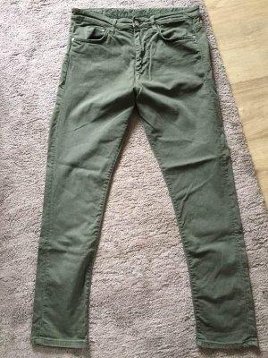 Neu Calvin Klein Jeans Militärgrün Herstellergröße Gr.28