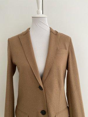 Stefanel Blazer en laine marron clair laine