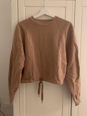 NEU! Camelfarbenes Sweatshirt von Bershka