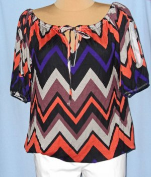 BPC Selection Premium Koszula typu carmen Wielokolorowy Wiskoza