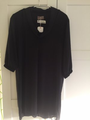 Cartoon Long Shirt black
