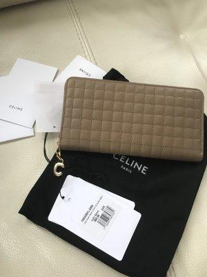 Celine Paris Portefeuille multicolore cuir