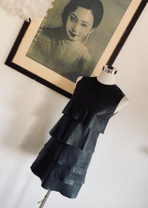 Neu Celine Kleid Leder Kleid Gr.36 Lederkleid
