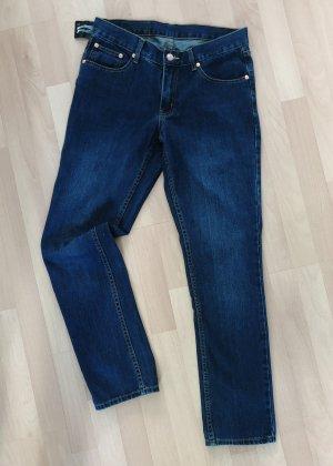 Cheap Monday Slim Jeans steel blue cotton