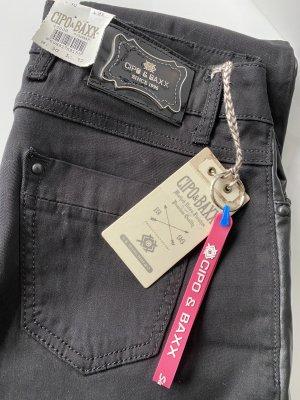 Cipo & Baxx Luźne spodnie czarny