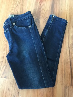 Neu closed jeans hose tiger skinny röhrenjeans w25 36 34