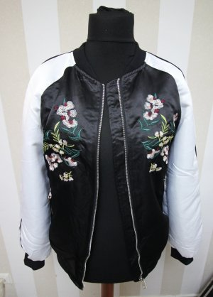 College Jacket white-black