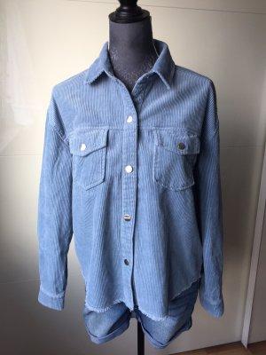 C&A Clockhouse Cord Jacket blue