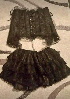 Sukienka z gorsetem czarny