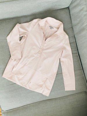 NEU: COS Bluse, beige, Gr 36, nude, Hemdbluse, Baumwolle