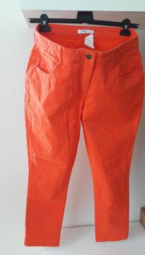 NEU, Cotton/Baumwolle Jeans, Farbe Orange,Bonprix Collection Gr.46