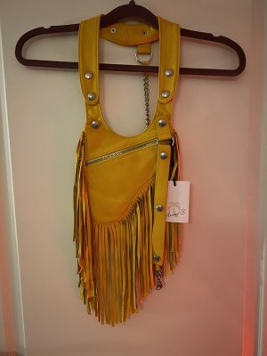 Anna v. Braun Fringed Bag multicolored