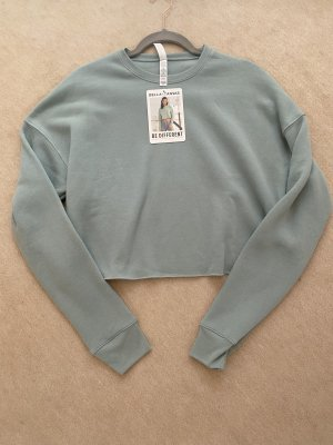 Bella+Canvas Fleece Jumper pale blue