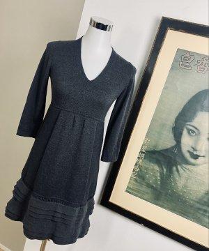 D. Exterior Knitted Dress grey