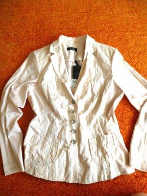 Neu Damen Blazer Sommer Elegant Gr.40 in Beige von Apanage P.149,95€