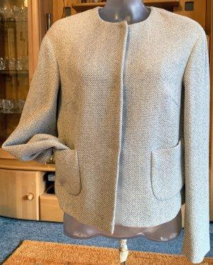 Blazer de lana gris claro-gris Lana