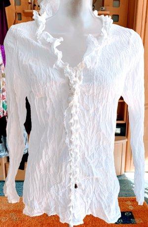 NEU Damen Bluse Crash Hemd Gr.S in Weiß von Apanage