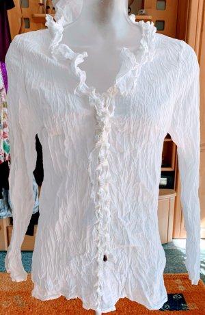 Apanage Blusa Crash bianco Cotone