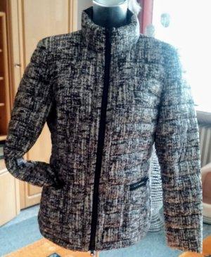 NEU Damen Daunen Jacke Stepp Gr.40 in Schwarz/Weiß von Apanage