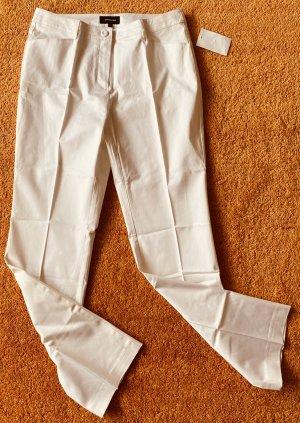 Fabiani Stretch Trousers white cotton