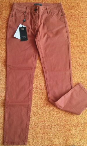 Neu Damen Hose Jeans Stretch Gr.38 in Terracotta von Lisa Campione