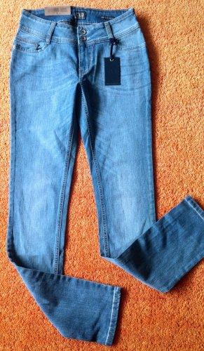 Colorado Jeans elasticizzati blu fiordaliso Cotone