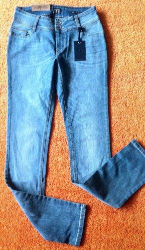 Colorado Denim Jeans elasticizzati azzurro Cotone