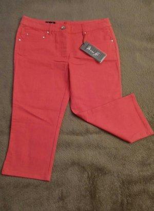 NEU Damen Hose Sommer Jeans Stretch Gr.36 in Rot von Miss H.P.27,95€
