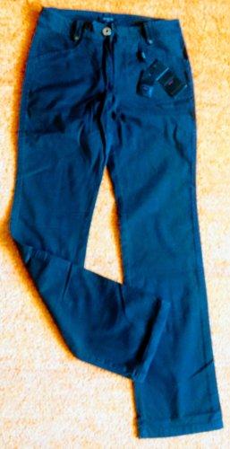Apanage Jeans stretch brun foncé coton