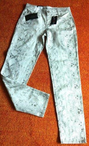 Anna Montana Stretch jeans licht beige Katoen