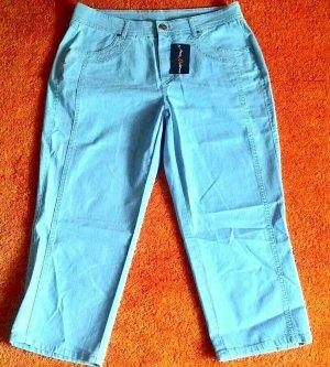 Anna Montana 7/8-jeans azuur Katoen