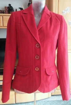 Neu Damen Jacke leicht und warm Blazer weich von Choice Gr.36 in Rot P.59,95 €