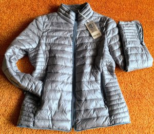 Honey Winter Veste matelassée gris clair nylon