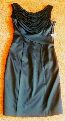Apanage Robe de soirée noir viscose