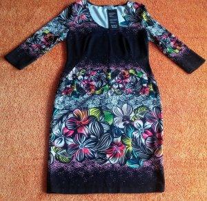 Bluebeery Midi-jurk veelkleurig Viscose