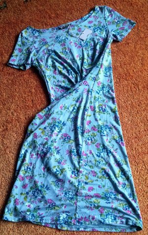 NEU Damen Kleid Sommer Jersey Gr.S in Bunt Geblümt von Sophia