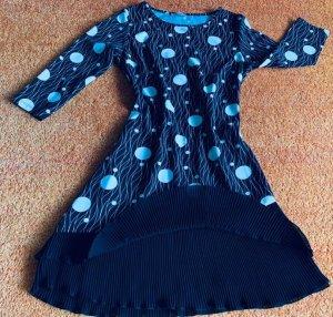 NEU Damen Kleid Stretch Lagenlook Gr.38 in Schwarz/Weiß von Yami Moda