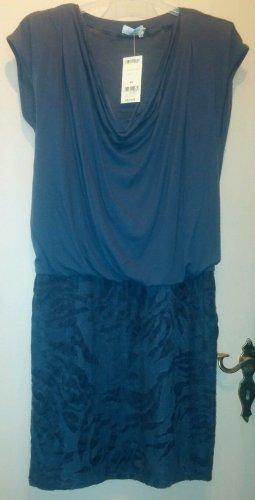 Apanage Vestito di lana grigio scuro-antracite Lana