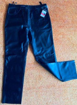 NEU Damen Leder Hose Lamm-Nappa Gr.44 in Schwarz von C&A P.99€