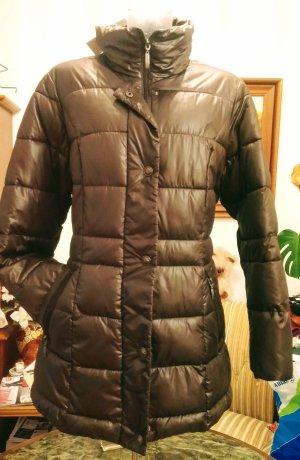 Steilmann Quilted Coat dark brown-brown polyester