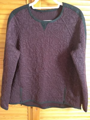 Apanage Crewneck Sweater brown-brown violet polyester